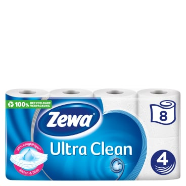 Zewa Ultra Clean Toilettenpapier