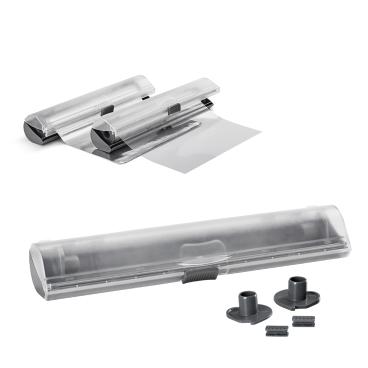 Metaltex X-tra Roll Folienschneider aus ABS-Kunststoff