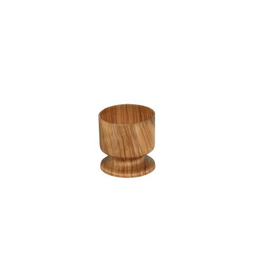 Metaltex Oliven-Holz Eierbecher, 4,5 cm