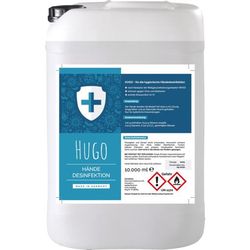 HUGO Händedesinfektion