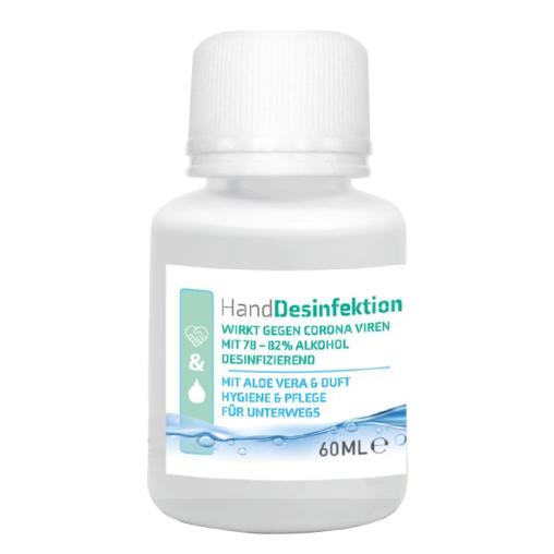 Händedesinfektionsmittel mit Aloe Vera