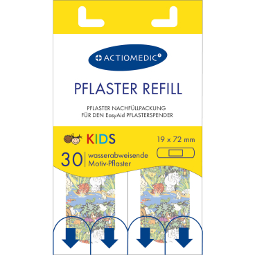 Actiomedic® EasyAid KIDS Pflasterstrips, 19 x 72 mm
