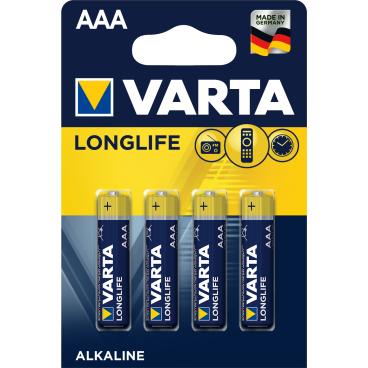 VARTA LONGLIFE AAA Batterie, Alkali