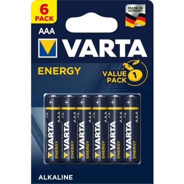 VARTA ENERGY AAA Batterie, Alkali