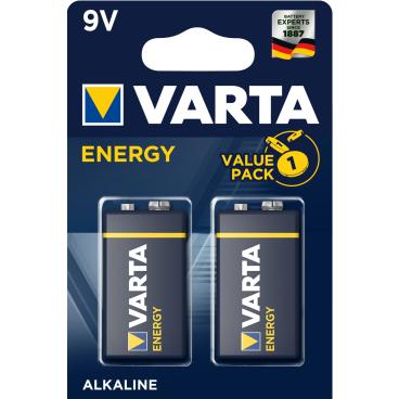 VARTA ENERGY 9 V Batterie, Alkali