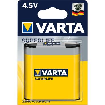 VARTA SUPERLIFE 4,5 V Batterie