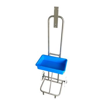 Floorstar DST 140 ES Desinfektionsständer, mit Tropfschale