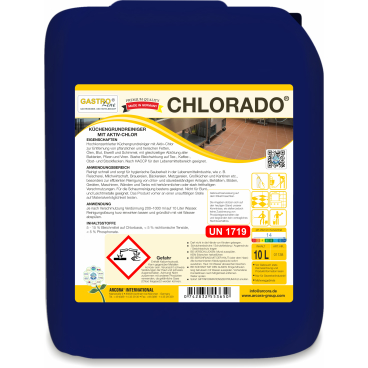CHLORADO Küchengrundreiniger mit Aktiv-Chlor