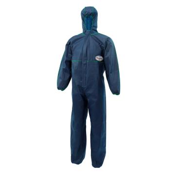 KLEENGUARD® A10 Overall, blau mit Kapuze 1 Karton = 50 Stück, Größe: M (46 - 50)