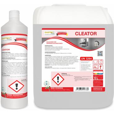 CLEATOR Kalklöser für gewerbliche Spülmaschinen