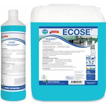 ECOSE Alkohol-Glanzreiniger mit Frischeduft