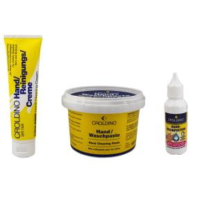 Croldino Handreinigungs- und Desinfektionsmittel Set