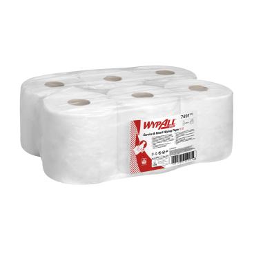 WYPALL* L10 Extra+ Wischtücher, Zentralentnahme