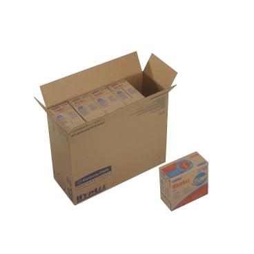 KC WYPALL* X60 Wischtücher, 1-lagig, weiß