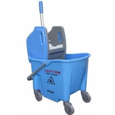 KIM Kunststofffahreimer mit Presse, 25 Liter