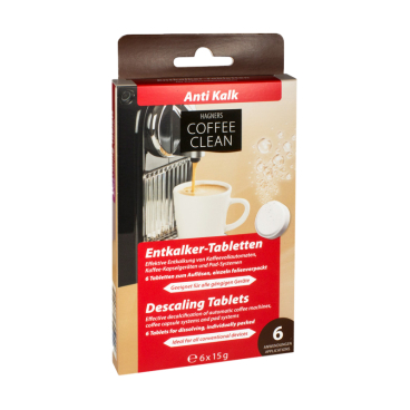 Hagners Coffee Clean Entkalker-Tabletten
