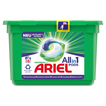 Ariel All in 1 Universal PODS Vollwaschmittel