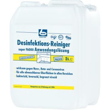 Dr. Becher super F6000 Desinfektionsreiniger, gebrauchsfertig