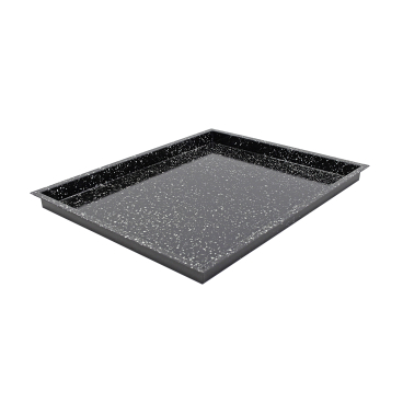SCHNEIDER Backblech/Konfektomatenblech GN 2/1, Granit-Emaille