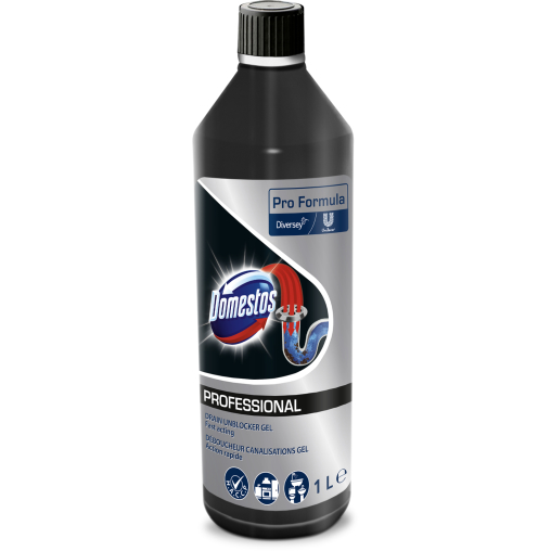 Domestos Professional Power-Gel Abflussreiniger