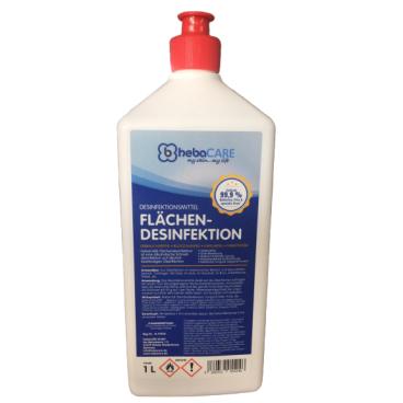 hebaCARE Hygienespray Flächendesinfektion, 86% Ethanol