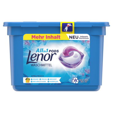 Lenor All in 1 PODS Vollwaschmittel Aprilfrisch