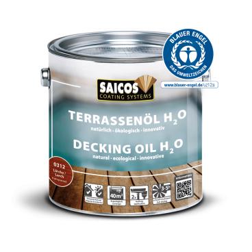 Saicos H2O Terrassenöl, lärche