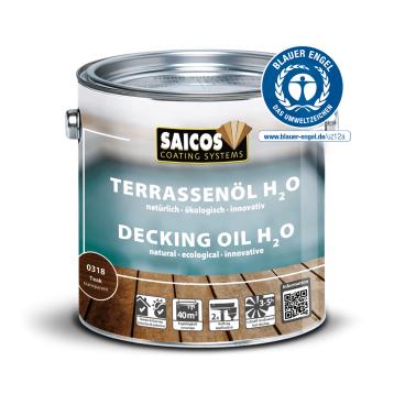Saicos H2O Terrassenöl, teak