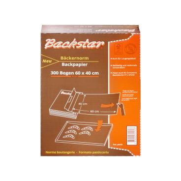 Backstar 300-Profi-Bogen Backpapier