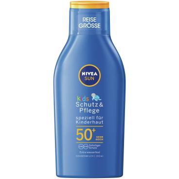 Nivea® Sun Kids Schutz & Pflege Sonnenmilch Reisegröße, LSF 50+