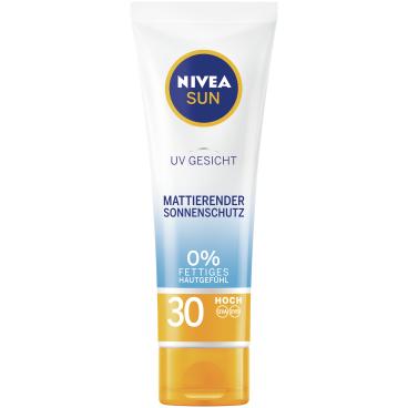 Nivea® Sun UV Gesicht mattierender Sonnenschutz, LSF 30