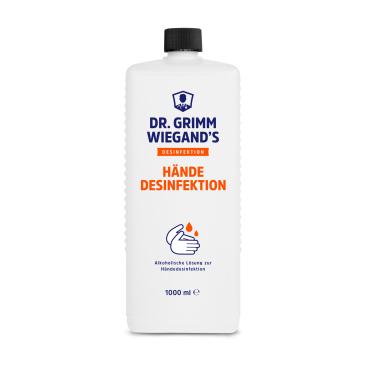 DR. GRIMM WIEGAND`S Händedesinfektion, 80% Ethanol