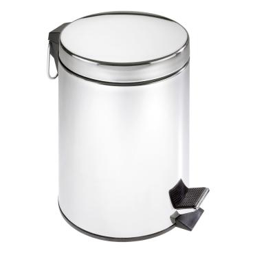 WENKO Kosmetik-Treteimer, 5 Liter