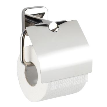 WENKO Mezzano Toilettenpapierhalter, mit Deckel