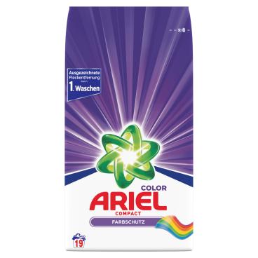 Ariel Compact Colorwaschmittel Pulver
