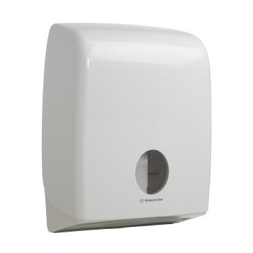 AQUARIUS* Dual TT Toilettenpapierspender, Einzelblattspender