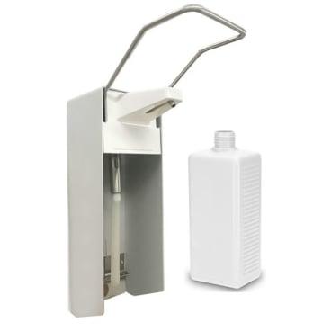 Manueller Aluminium Handdesinfektionsmitttelspender, Wandspender