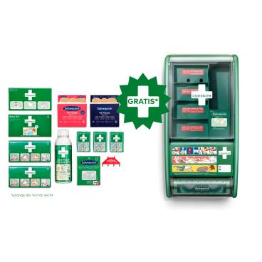 Cederroth First Aid Station Nachfüllset + Leerstation