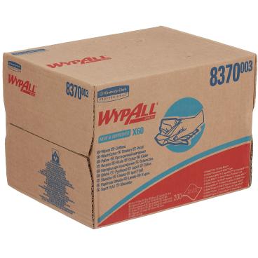 WypAll® X60 Papierwischtücher, 1-lagig, 43 x 31,8 cm