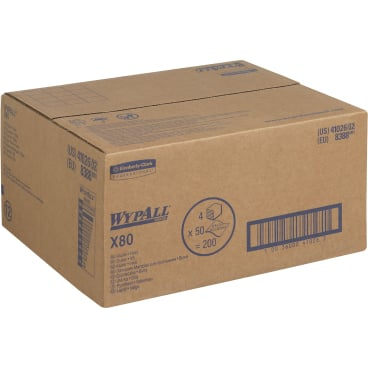 WypAll® X80 Wischtücher, 1-lagig, 30,5 x 31,8 cm