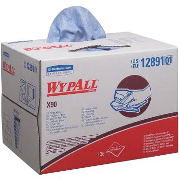 WypAll® X90 Wischtücher, 2-lagig, 42,7 x 28,2 cm