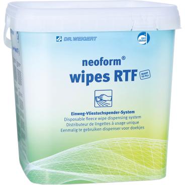 Dr. Weigert neoform® wipes RTF Einweg-Vliestuchspendersystem
