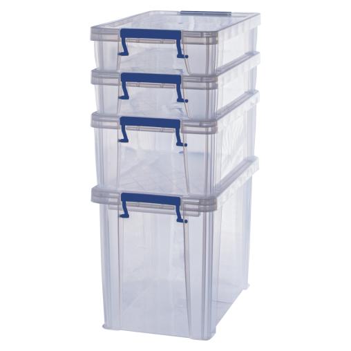 Fellowes ProStore™ Bonus Aufbewahrungsboxen, 4-teilig