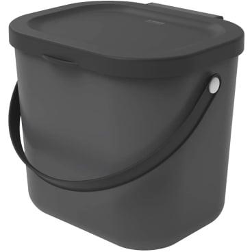 Rotho ALBULA Recycling Müllsystem, 6 Liter