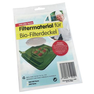 Biologic Filtermaterial für Biologic Clip-Filterdeckel