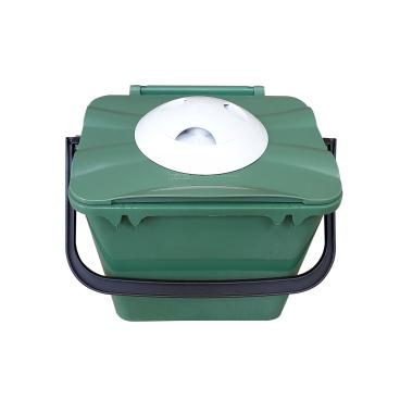 Biologic Küchen Vorsortierbehälter mit Geruchsfilter, grün