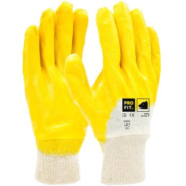 Fitzner Basic Nitril-Handschuh, gelb