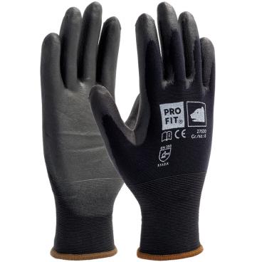 Fitzner Soft-PU-Handschuh, schwarz