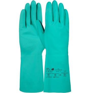 Fitzner Trivex Nitril Chemikalienschutzhandschuh, 33 cm