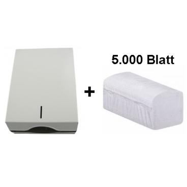 Handtuchpapierspender + Papier